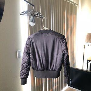 H&M Purple Bomber Jacket Size 4